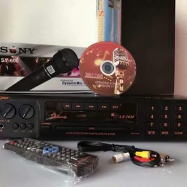 LEXING MIDI DVD KARAOKE on Carousell
