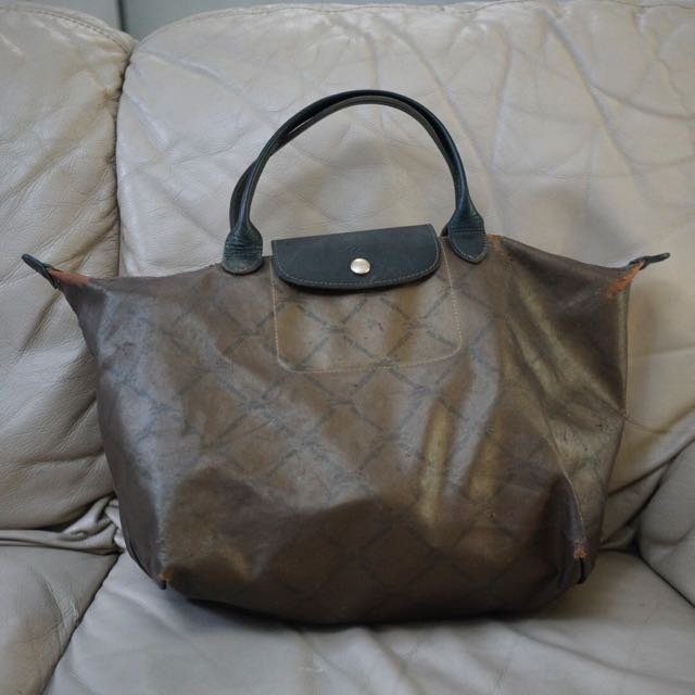 Longchamp Copper Handbag