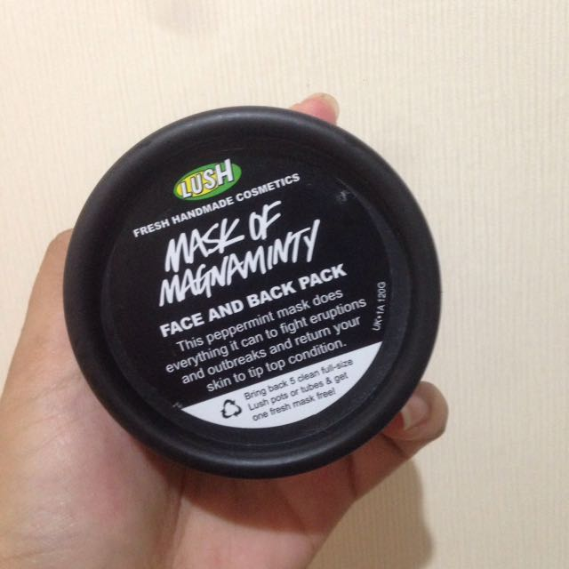 LUSH MASK OF MAGNAMINTY PRELOVED
