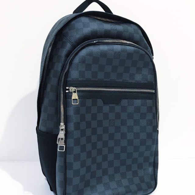 b9681ccc9c8 LV michael backpack damier Graphite