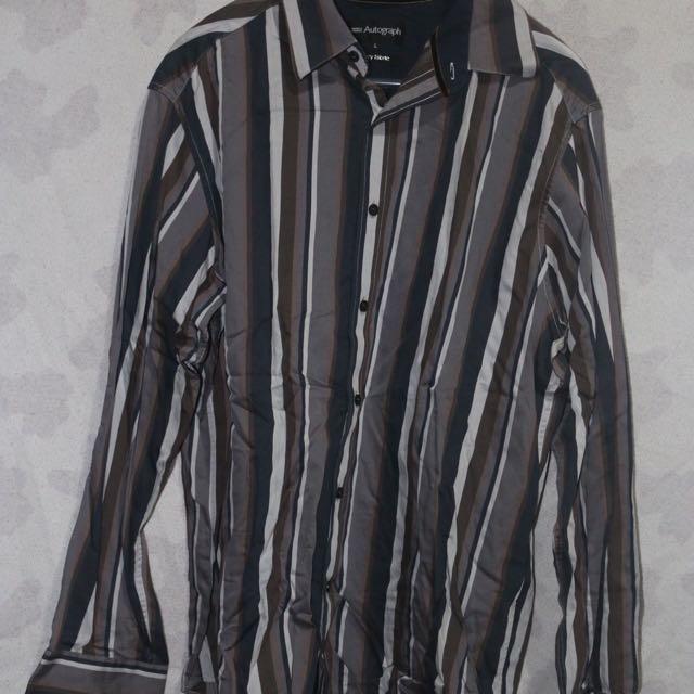 Marks&Spencer Checkered Long Sleeve