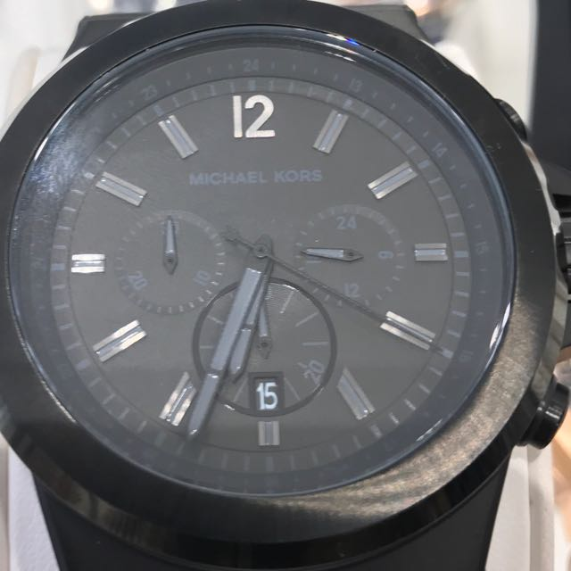 a28020ed0044 Michael Kors Dylan Black Steel Watch (MK8279)