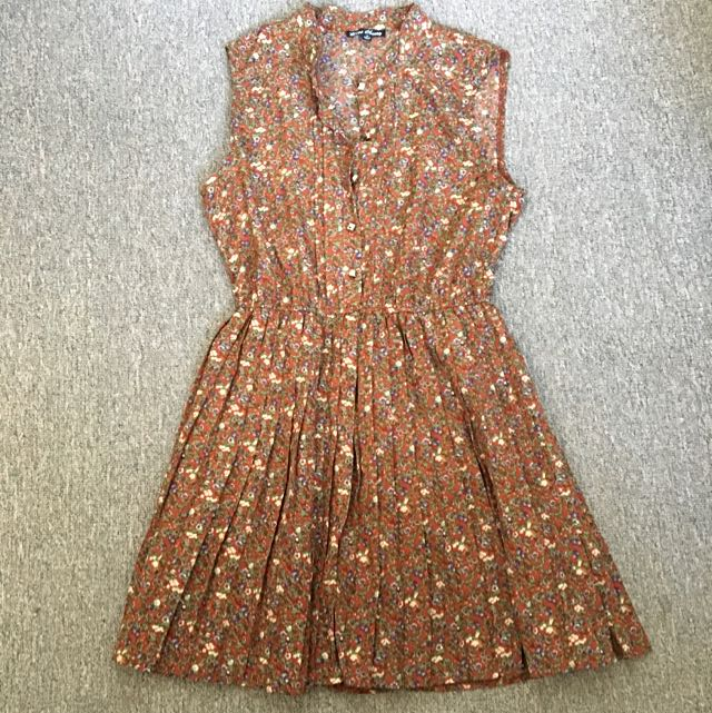 Miss Cherry Satin Vintage Dress