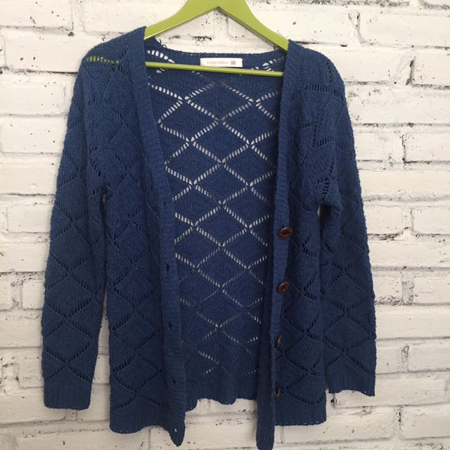 Navy Long Sweater