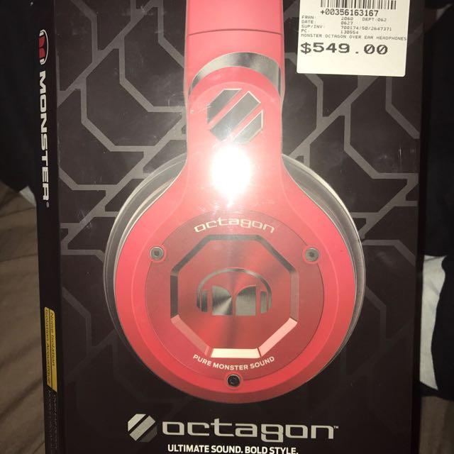 *NEW* Monster Octagon Headphones