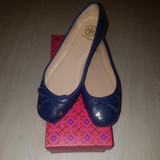 New Tory Burch Shoes In Navy Blue