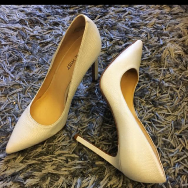 Nine West White Shoes