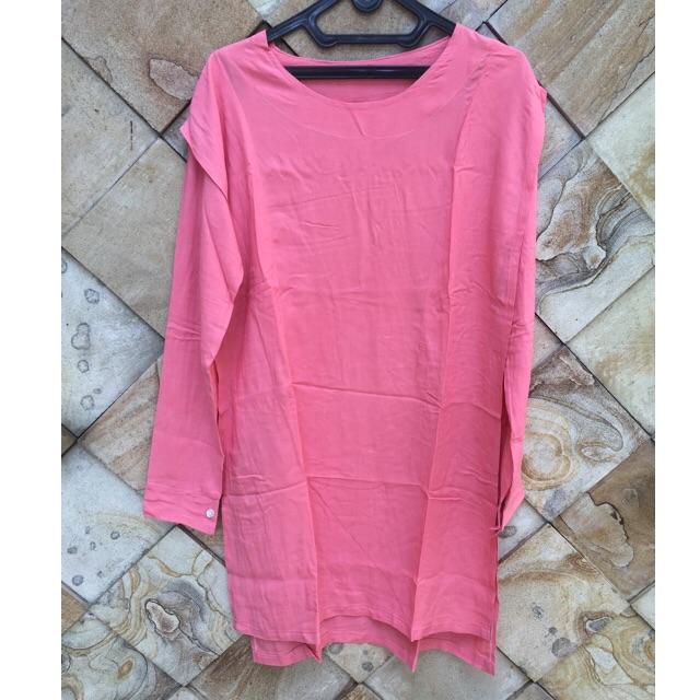 NO BRAND: Pink Top (Panjang)