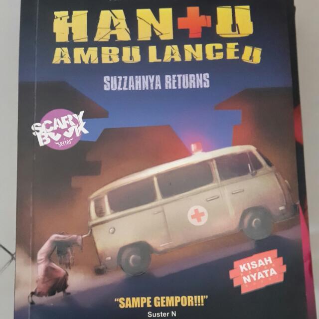 Novel Hantu Ambulanceu
