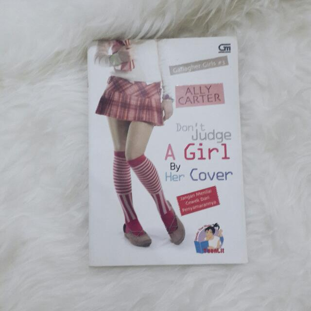 Novel Murah Don't judge A Girl By Her Cover