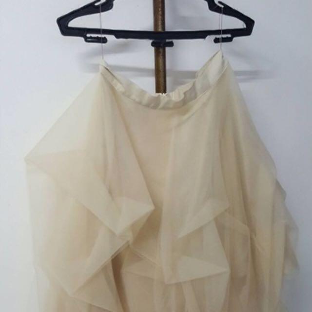Nude Tutu Skirt