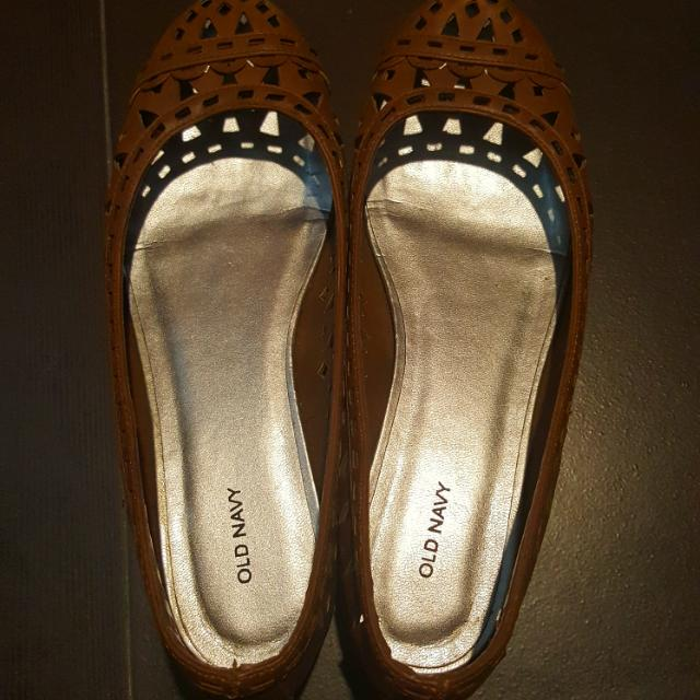Old Navy Cut Out Flats