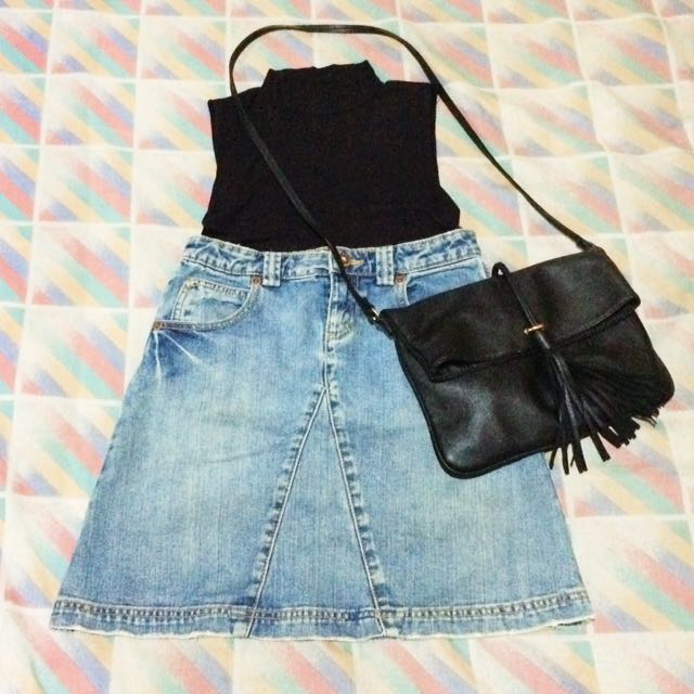 ‼️REPRICED‼️Old Navy Denim Skirt