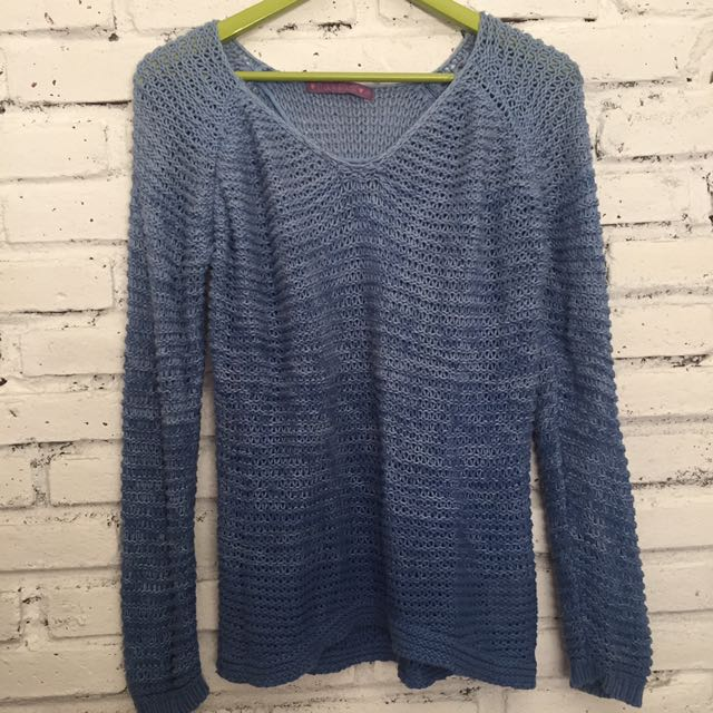 Ombre Blue Sweater
