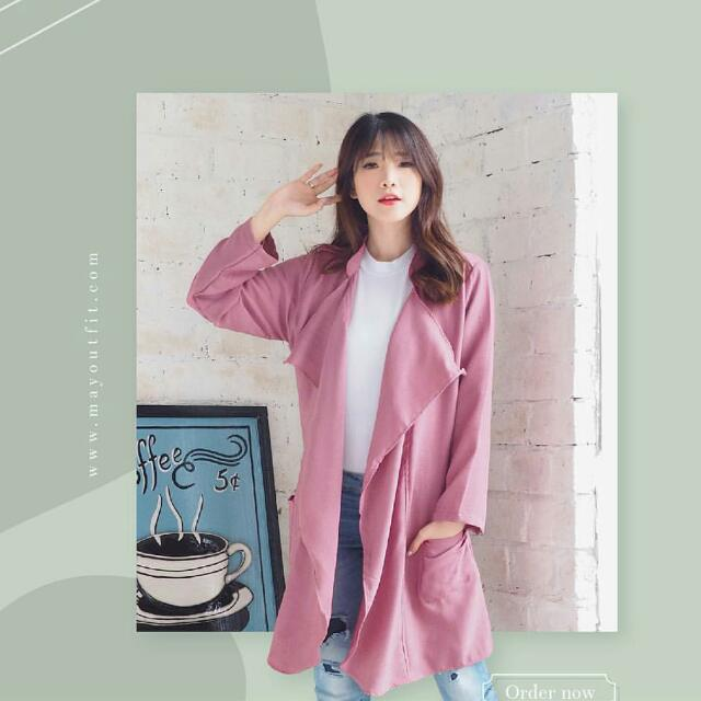 Outer Pink Mayoutfit