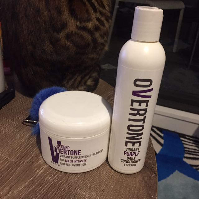 Overtone Vibrant Purple Hair Mask Conditioner