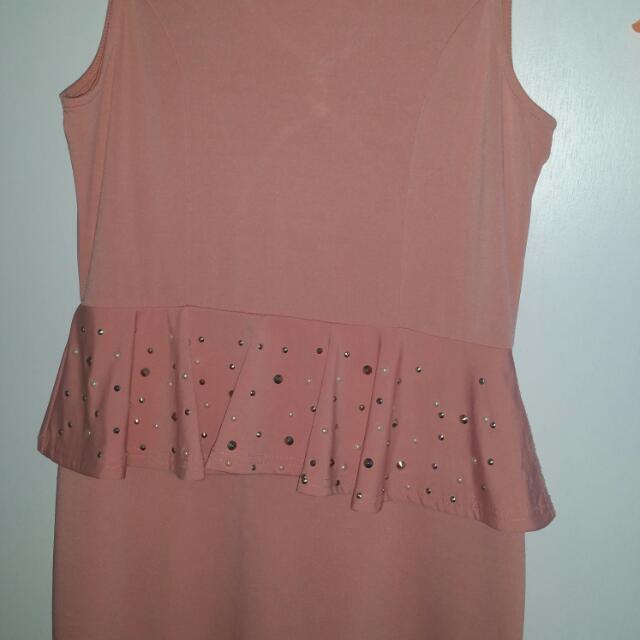 Peach Dress L