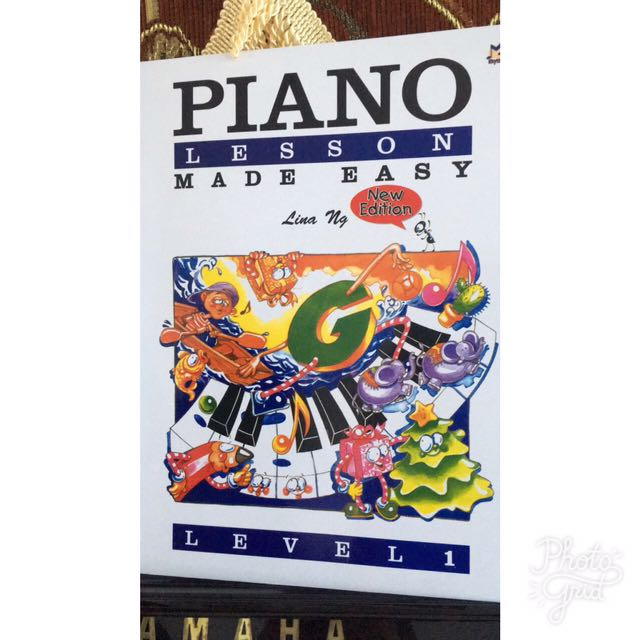 Piano Lesson Book Level 1