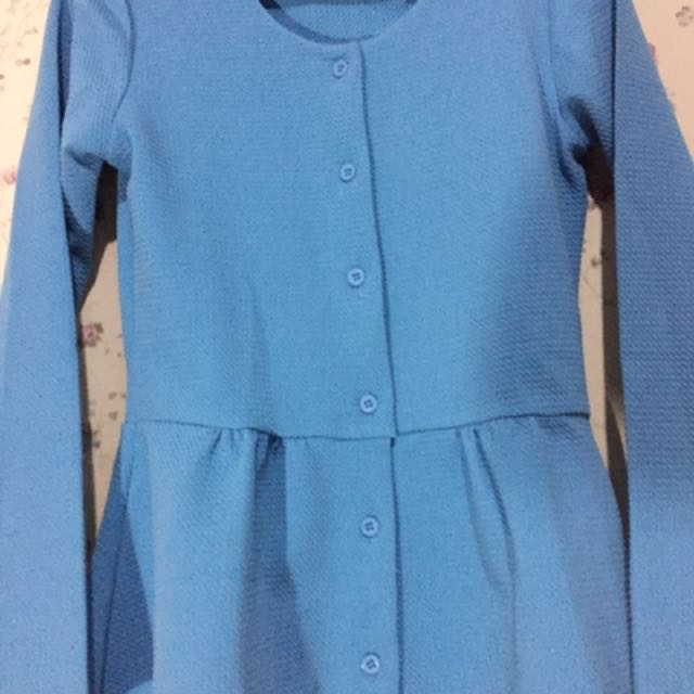 Preloved Baby Blue blouse