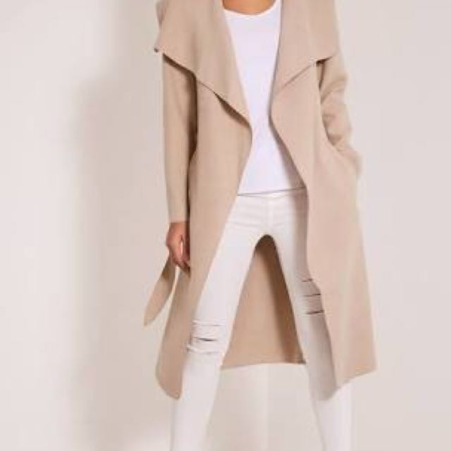 Pretty Little Things Beige Trench Coat