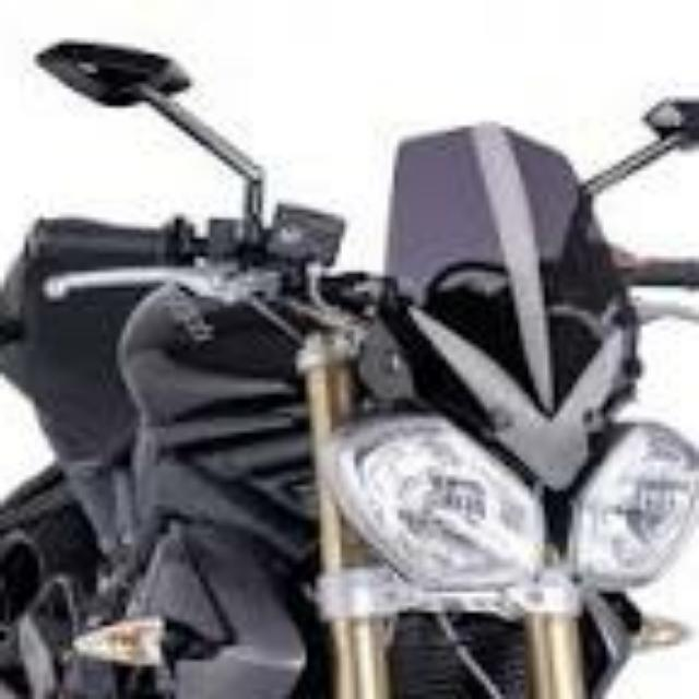 PUIG Flyscreen For Triumph Speed Triple