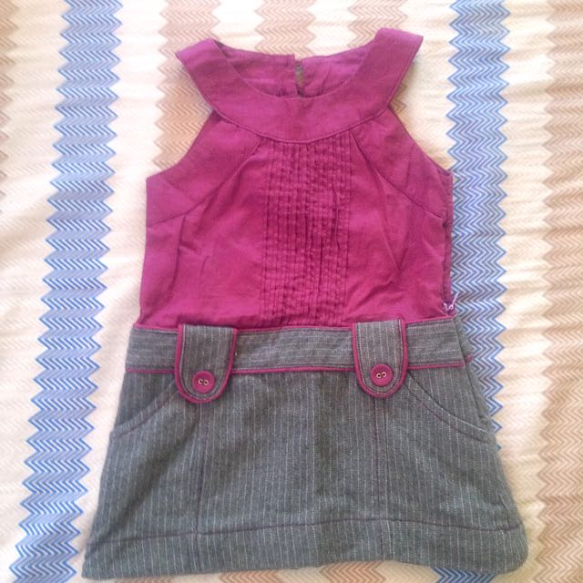 Purple Candy Baby Dress