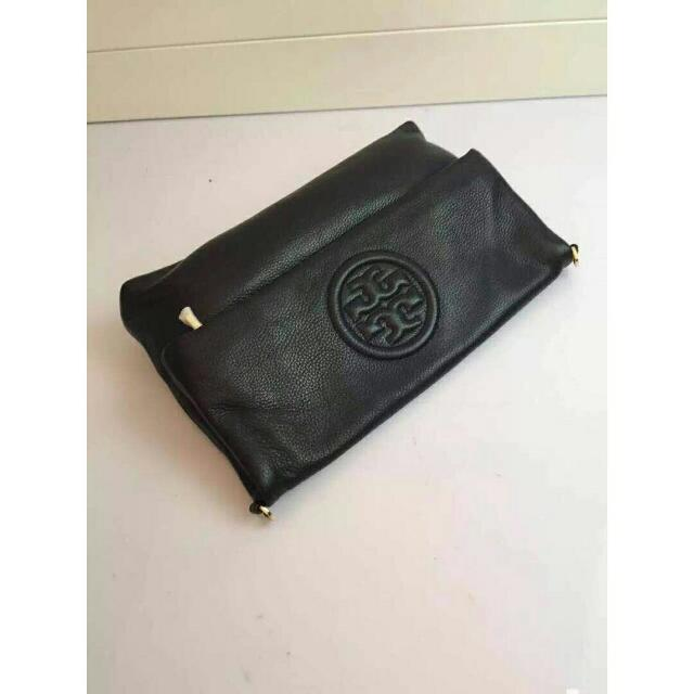 9b4dae15a024 Ready authentic ori TORYBURCH bombe foldover clutch