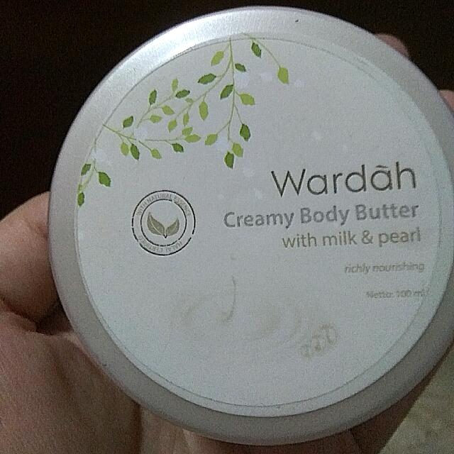 Sale New Wardah Creamy Body Butter With Milk And Pearl 100 ML
