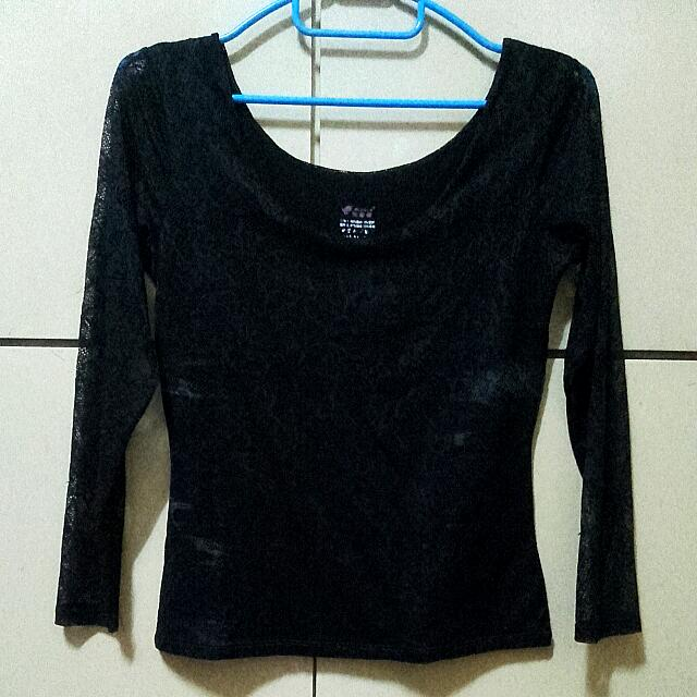 See-Through Laced Top (REPRICED!)