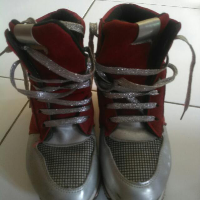 Sepatu Bowling No Branded Size 37