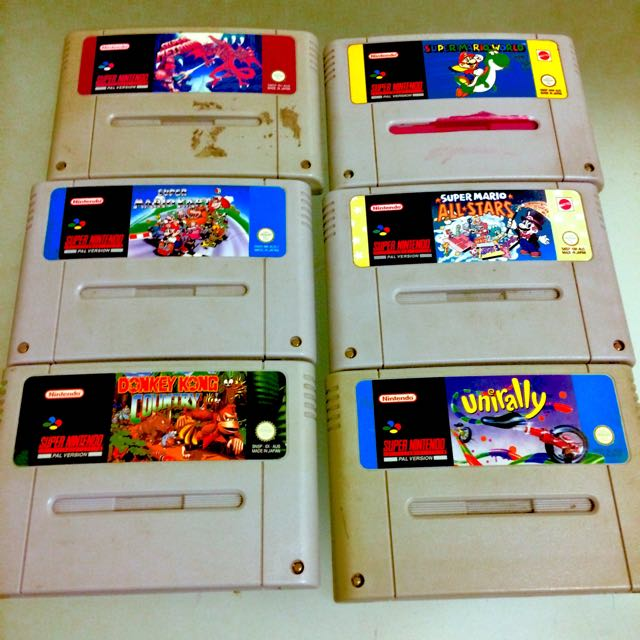 Snes Games And Console