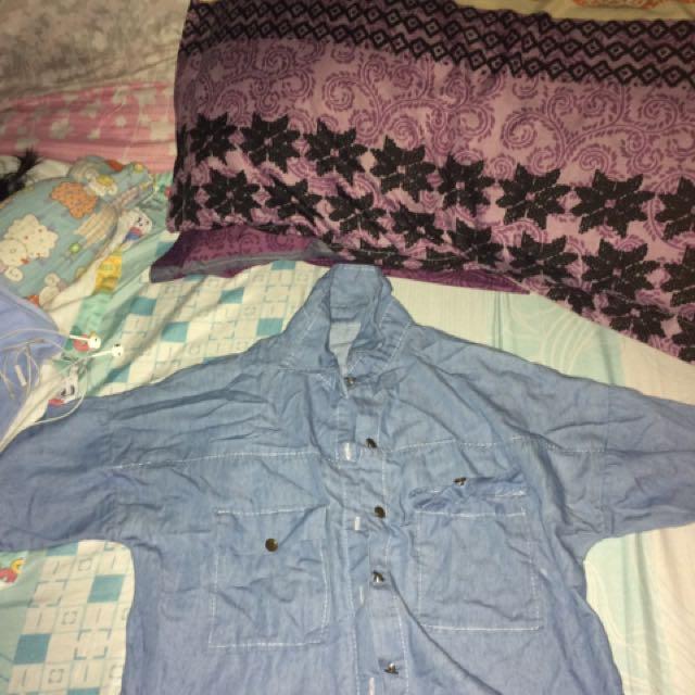 Soft Denim Collar Shirt