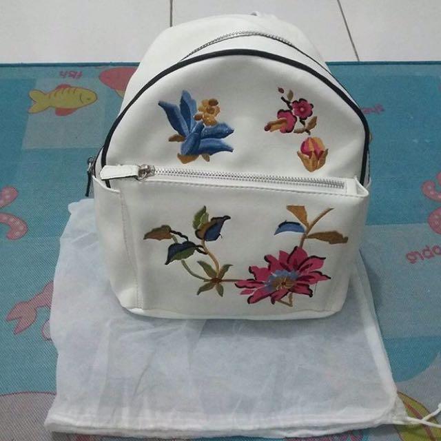 Stradivarius Sweet Roses Ransel Bag