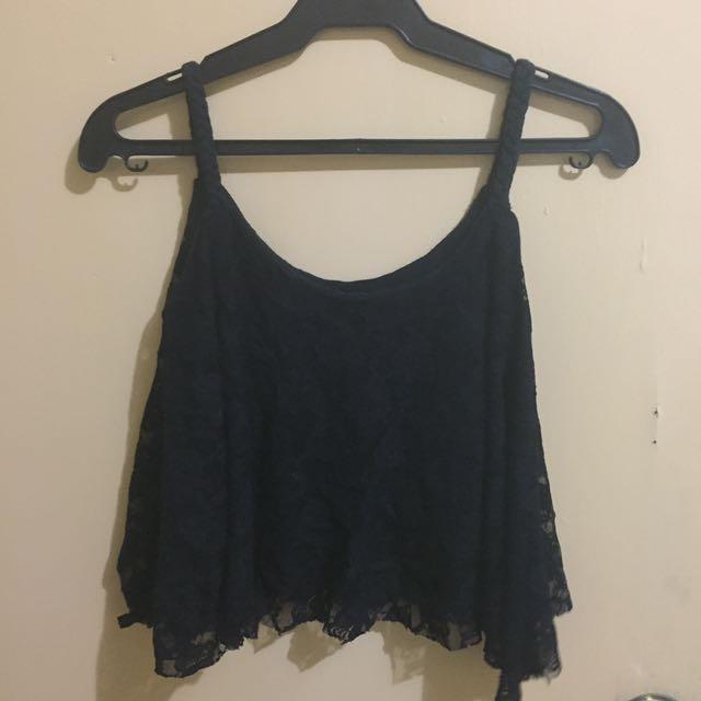 Trendy Lace Sleeveless Top