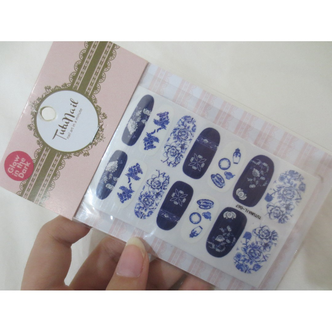 Tutu Nail China Porcelain Nail Sticker