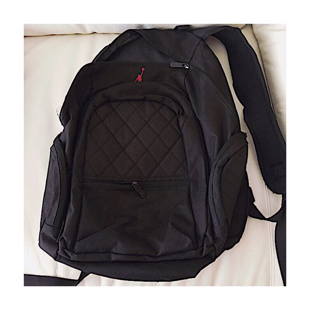 Two Air Jordan Backpacks