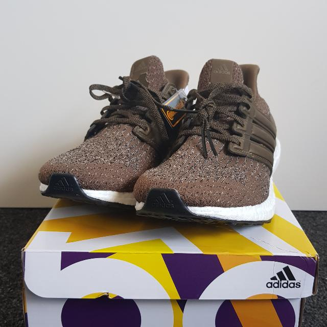 Ultra Boost 3.0 Trace Olive (Leather Cage)