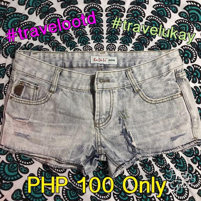 Unbranded Maong Denim Shorts
