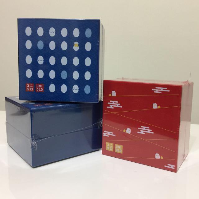 Uniqlo買額禮-雙層糖果盒/置物盒