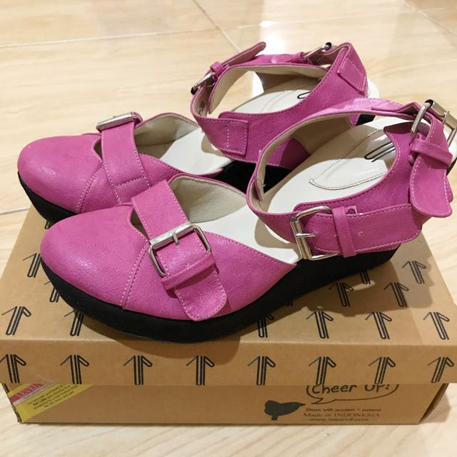 UP Shoes Elsie Pink