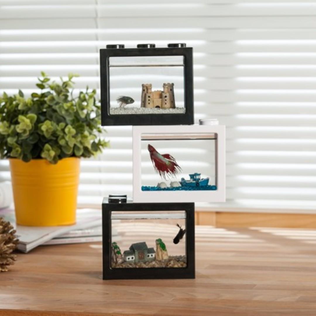 ... Brand New Lego Stackable Mini Display Fish Tank ...