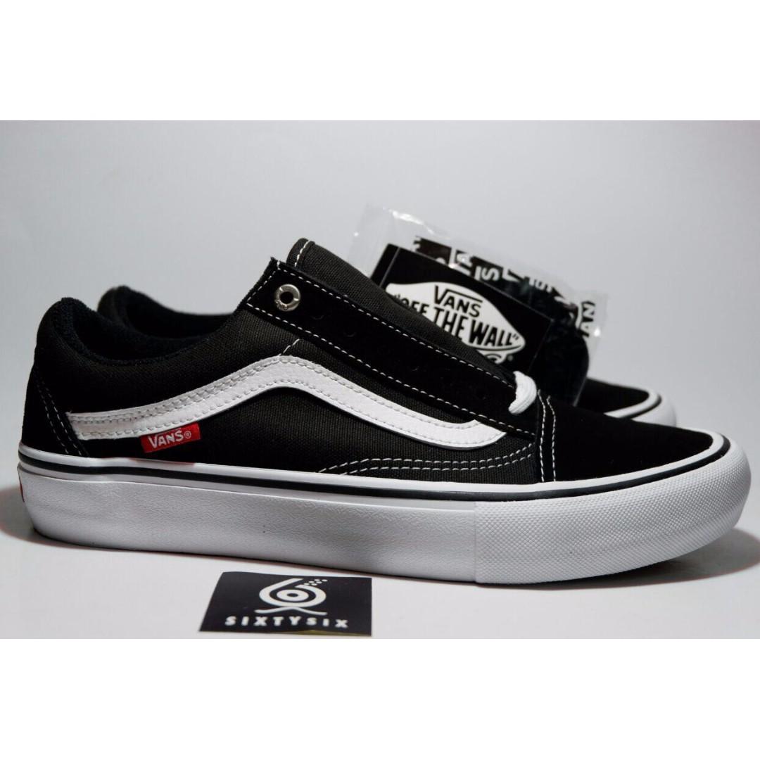 Vans Old Skool Pro Black White. 071660ff3