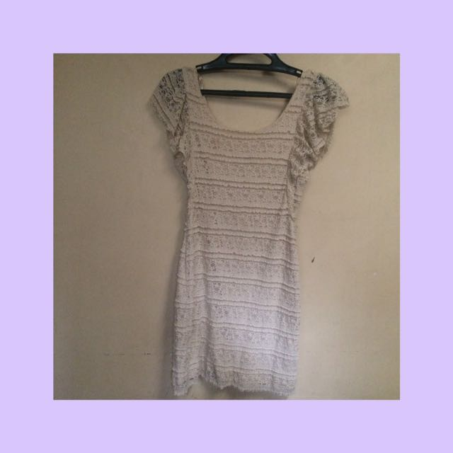 Vintage laced dress