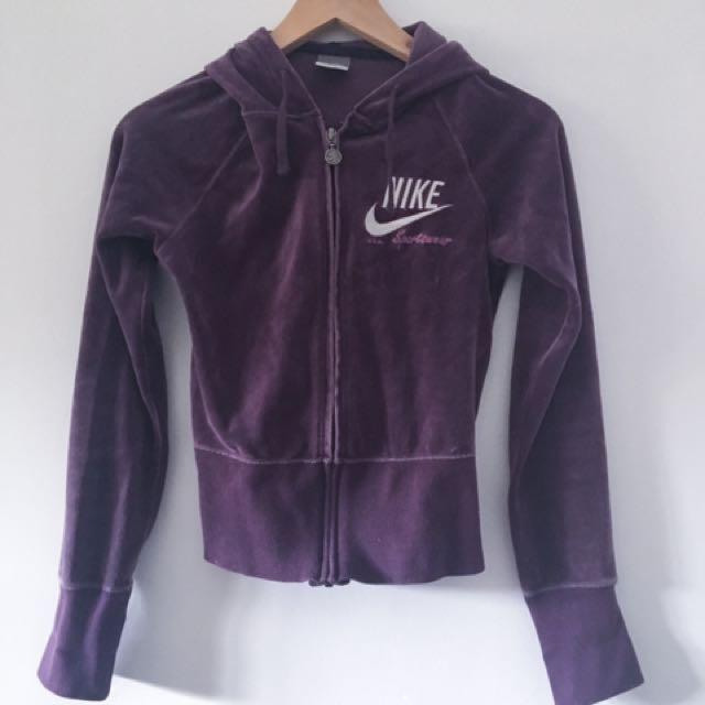 Vintage Nike Velour Jacket