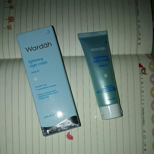 Wardah Lightening Night Cream [Step 2]