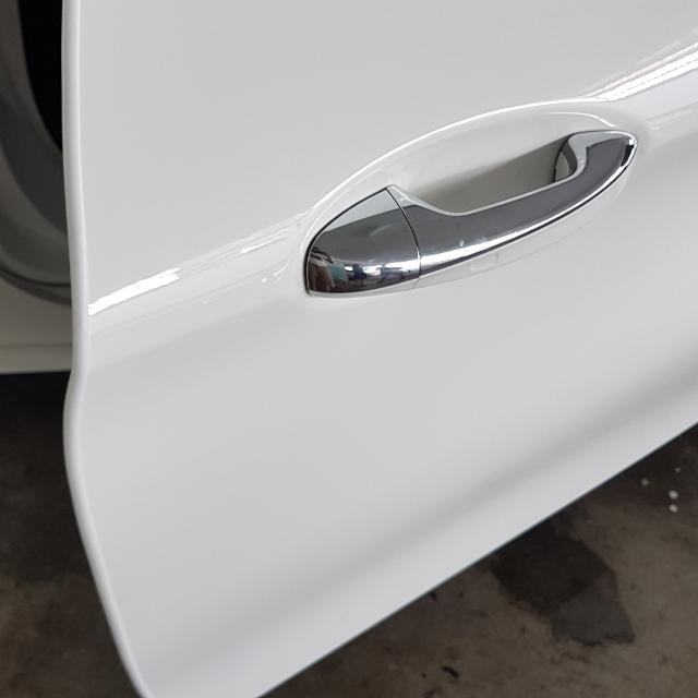 White Car Door Edge Guard Installation Car Accessories on Carousell