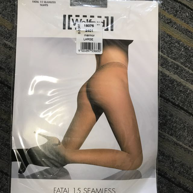 157dc2a547c Wolford Fatal 15 Seamless Pantyhose