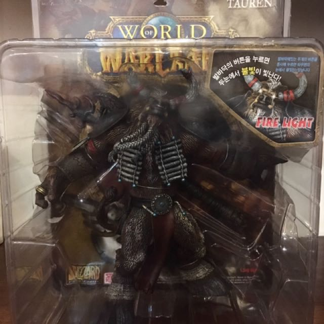 World Of Warcraft Tauren Figure