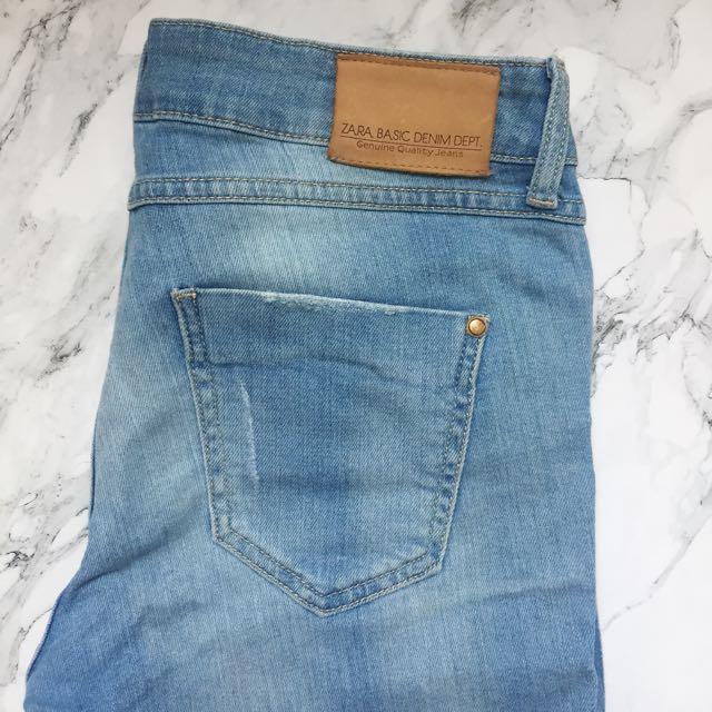 ZARA Denim Basic Jeans / Zara 牛仔褲