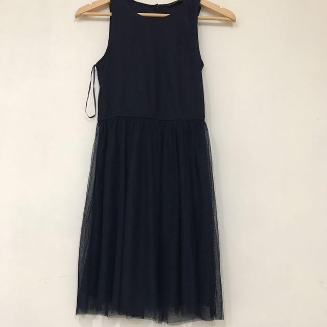 Zara TRF Dress Tile Sz S